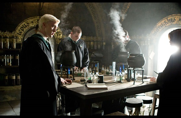 Still of Malfoy from Harry Potter and the Half Blood Prince