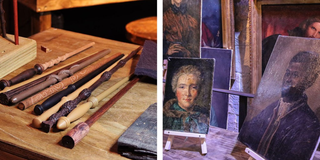 Introducing the Art Department - Wand making & portrait artisits