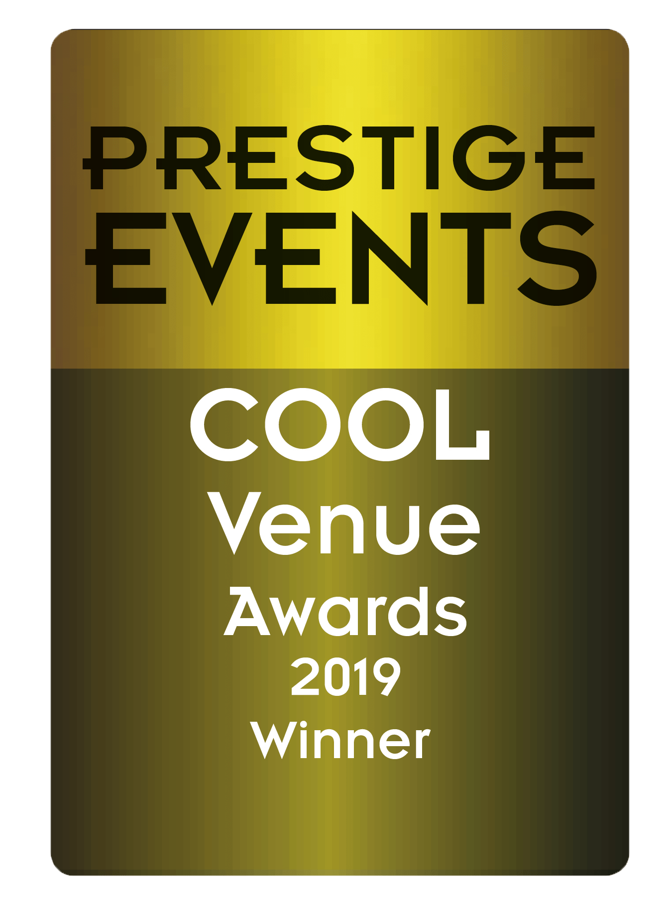 Prestige Events - Cool venue 2019 winner