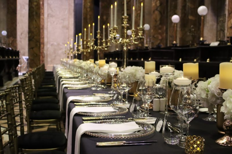 Dinner in Gringotts Bank