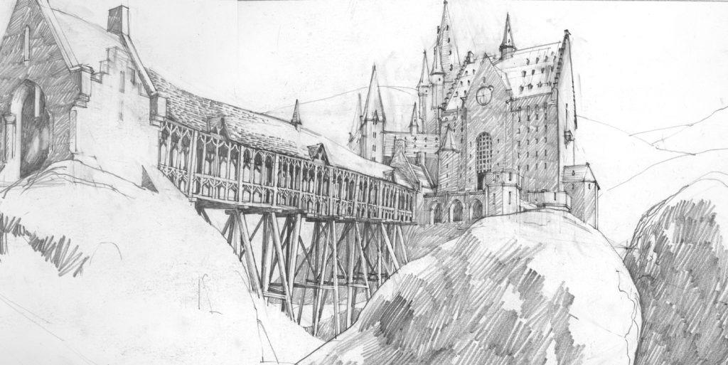 Hogwarts sketch