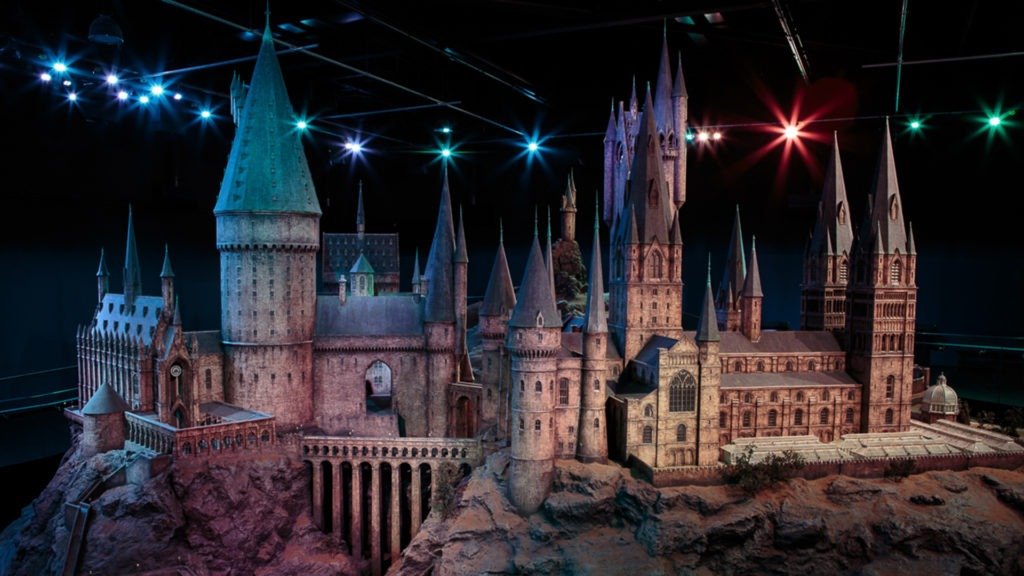 Video call background - Hogwarts