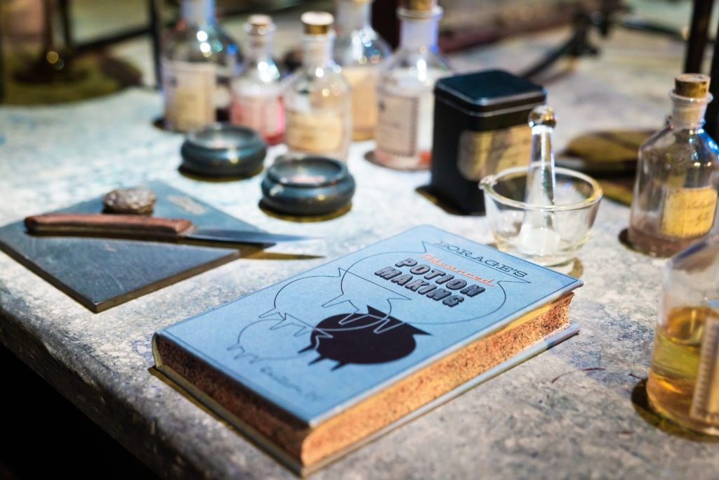 Potion making book
